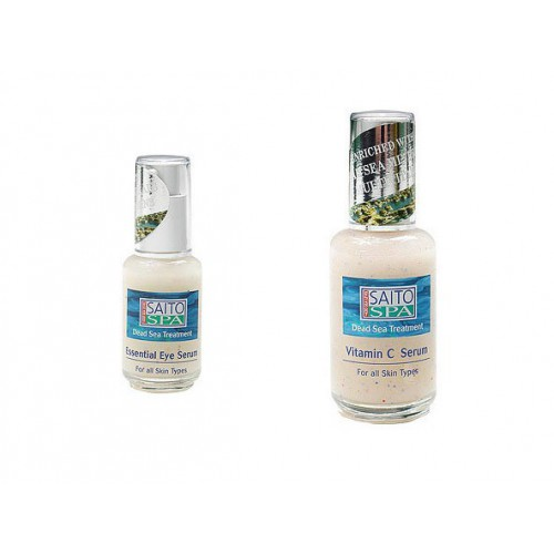 SAITO SPA Serum z witaminą C 55 zł + serum pod oczy -20% taniej